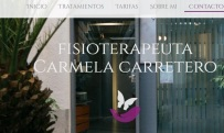 Fisioterapeuta Carmela Carretero